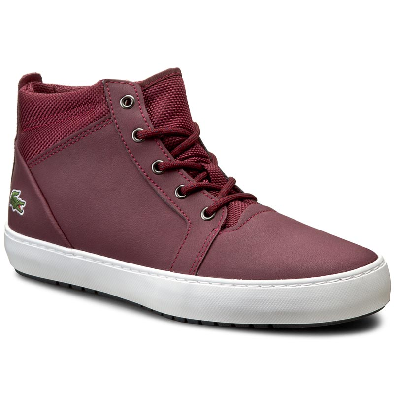 Sneakersy LACOSTE - Ampthill Chukka 416 1 Spw 7-32SPW01541V9 Burg