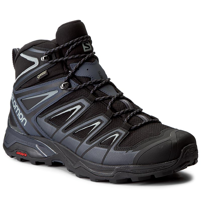 Trekingová obuv SALOMON - X Ultra 3 Mid Gtx GORE-TEX 398674 33 V0 Black/India Ink/Monument