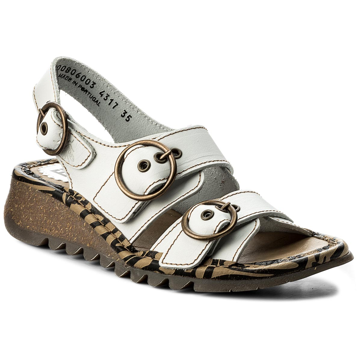 Sandály FLY LONDON - Tearfly P500806003 Offwhite