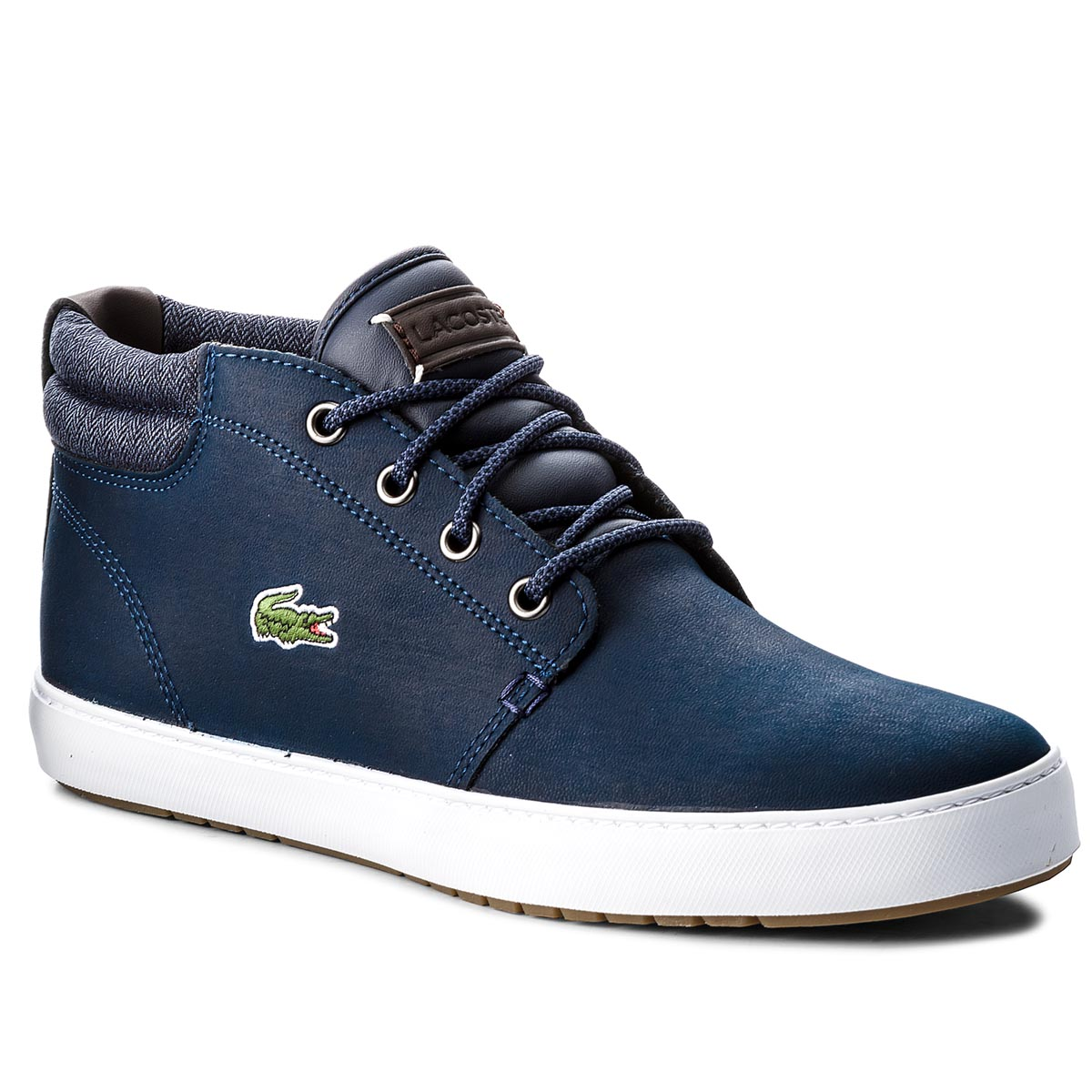 Sneakersy LACOSTE - Ampthill Terra 318 1 Cam 7-36CAM0005ND1 Nvy/Dk Blu