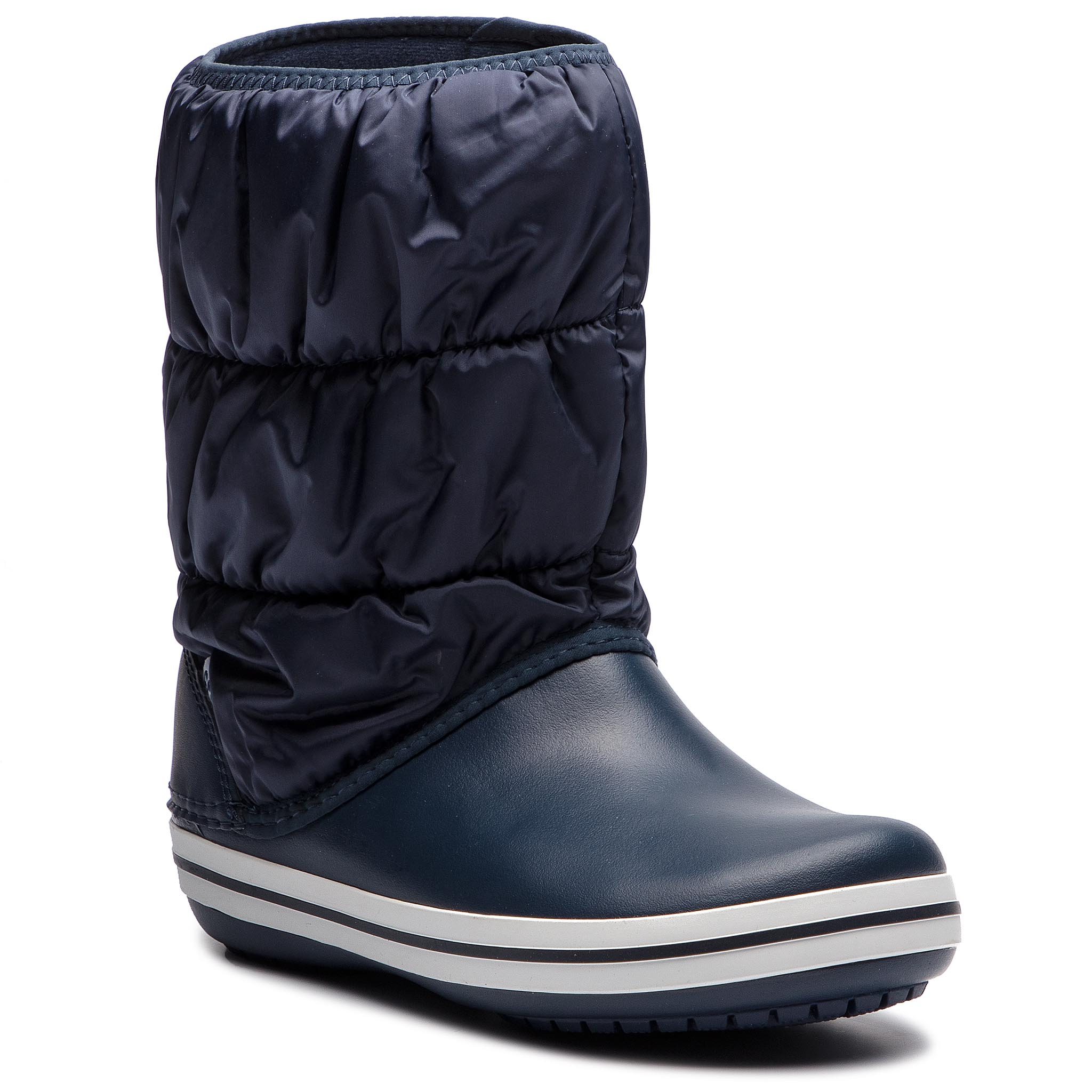 3a9f380214b Sněhule CROCS - Winter Puff Boot 14614 Navy/White