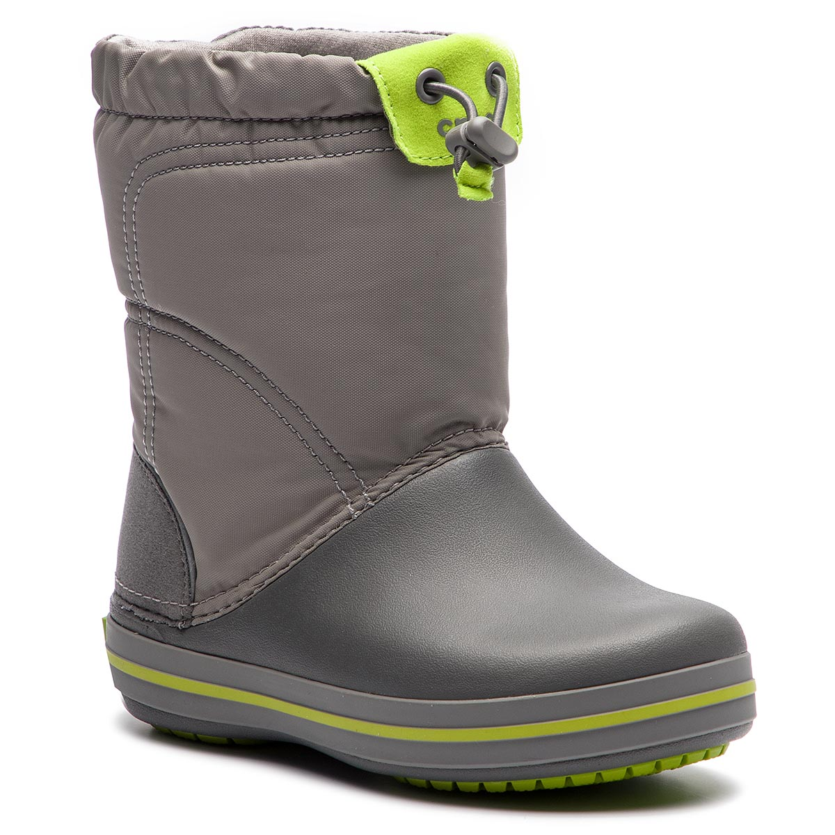 da7275417386d Sněhule CROCS - Crocband Lodgepoiont Boot K 203509 Smoke/Graphite