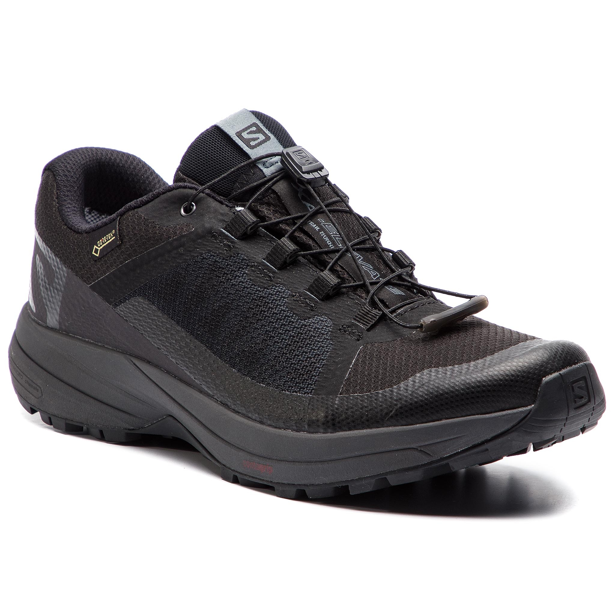 3dca4b6abd403 Boty SALOMON - Xa Elevate Gtx GORE-TEX 406597 27 V0 Black/Ebony/