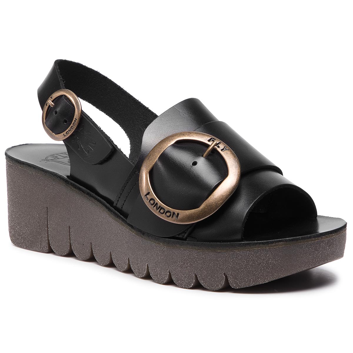 Sandály FLY LONDON - Yidifly P144190000 Black