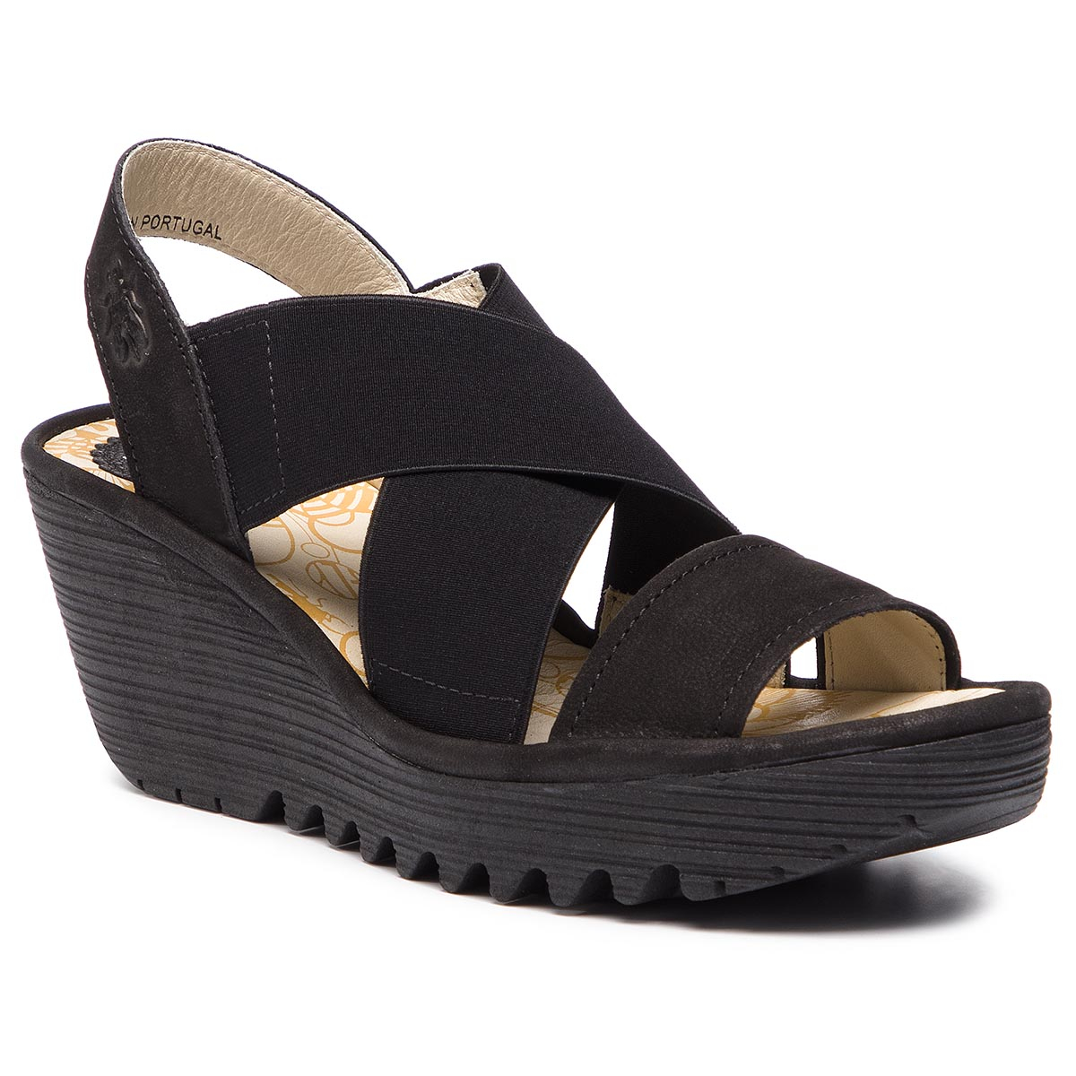 Sandály FLY LONDON - Yajifly P500888000 Black