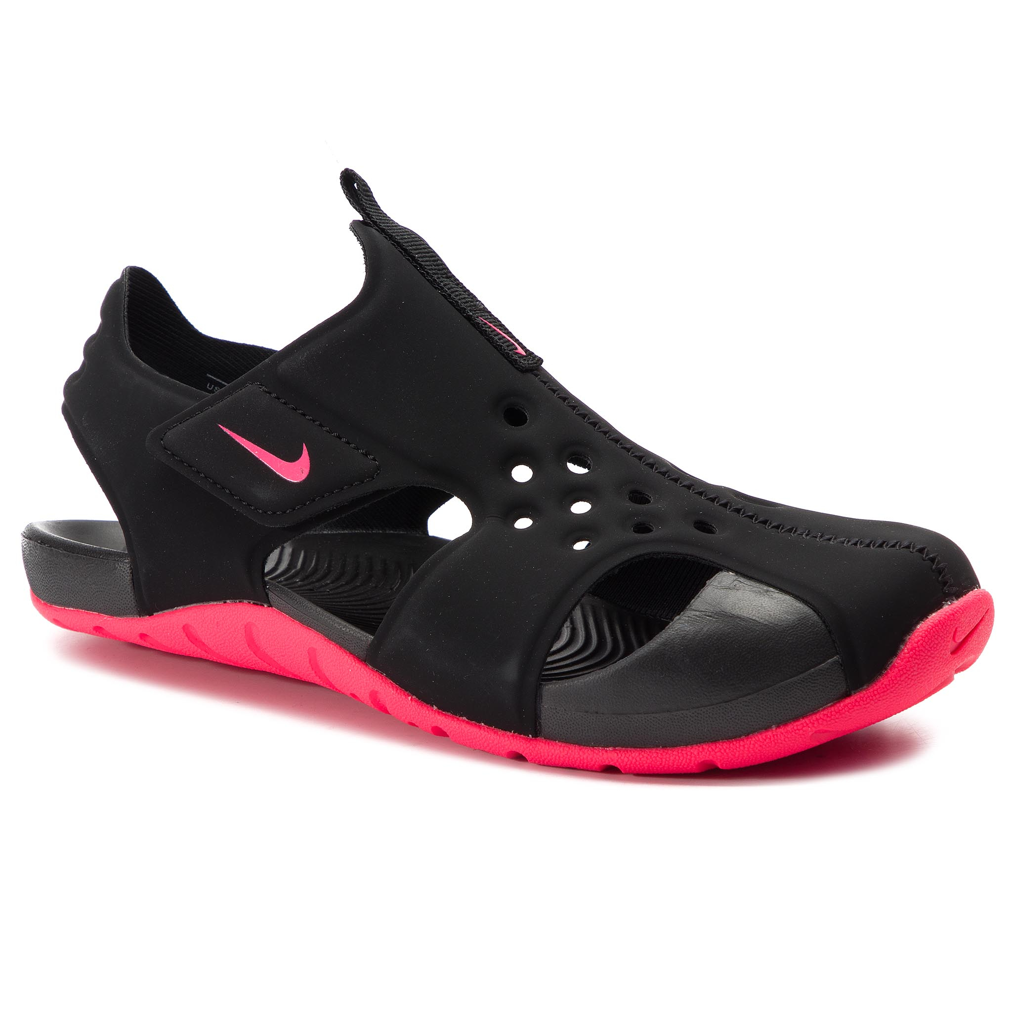 8f5a0b3bbef3 Sandály NIKE - Sunray Protect 2 (PS) 943826 003 Black Racer Pink