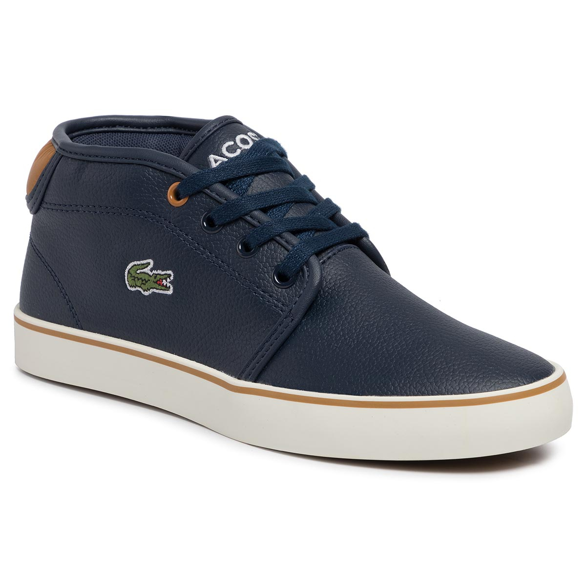 Sneakersy LACOSTE - Ampthill 319 1 Cuj 7-38CUJ0001NT1 Nvy/Tan