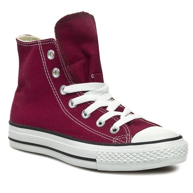 Plátěnky CONVERSE - All Star Hi Maroon M9613 Bordo