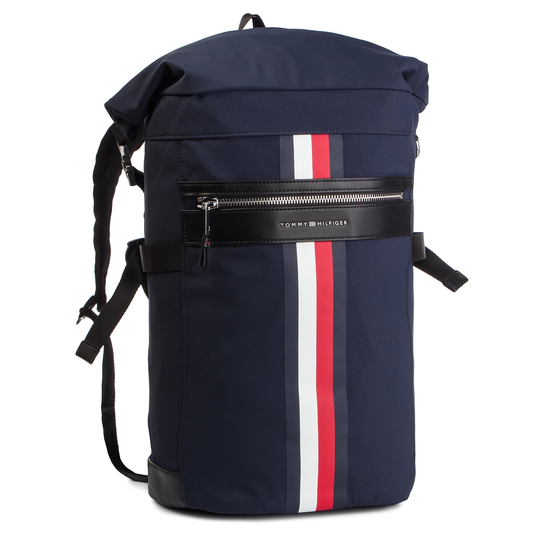 8882077773 Batoh TOMMY HILFIGER - Elevated Roll Backpack Stripe AM0AM04423 413