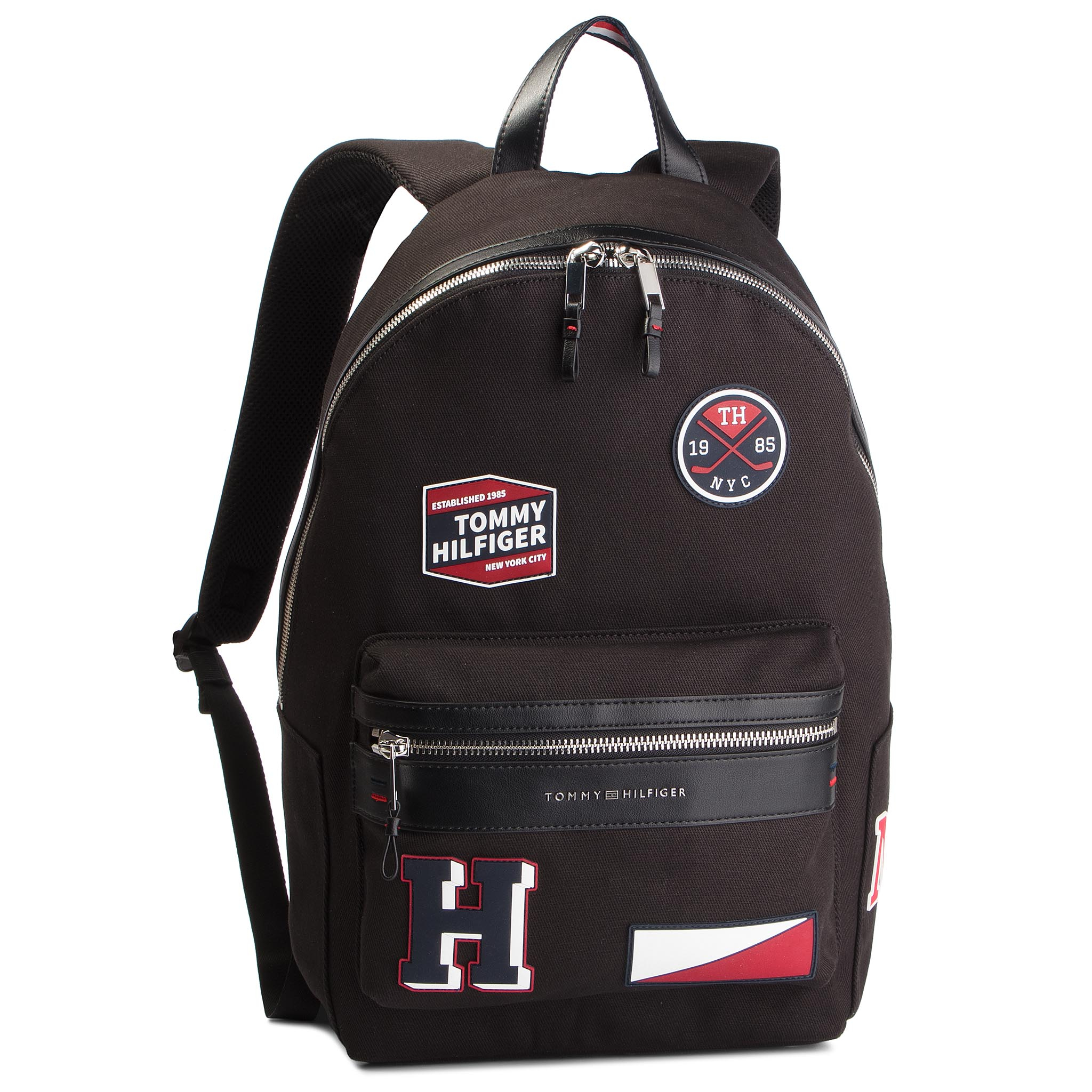 6a04664d67 Batoh TOMMY HILFIGER - Elevated Backpack Patches K60K604420 002