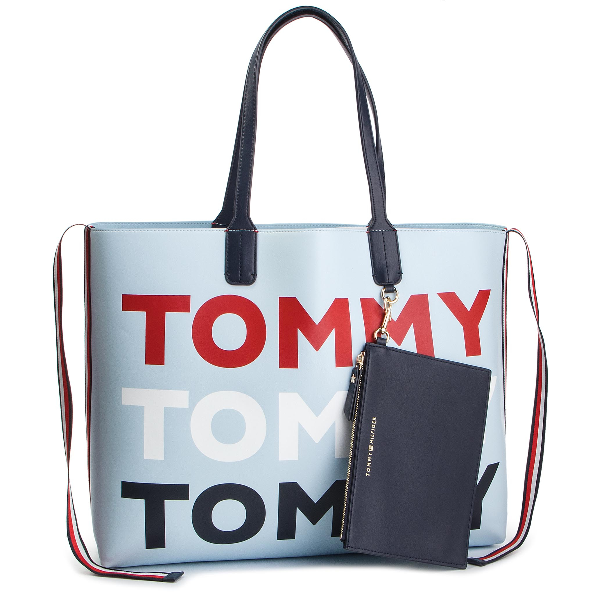 2d87cc57c3 Kabelka TOMMY HILFIGER - Iconic Tommy Tote AW0AW06446 413