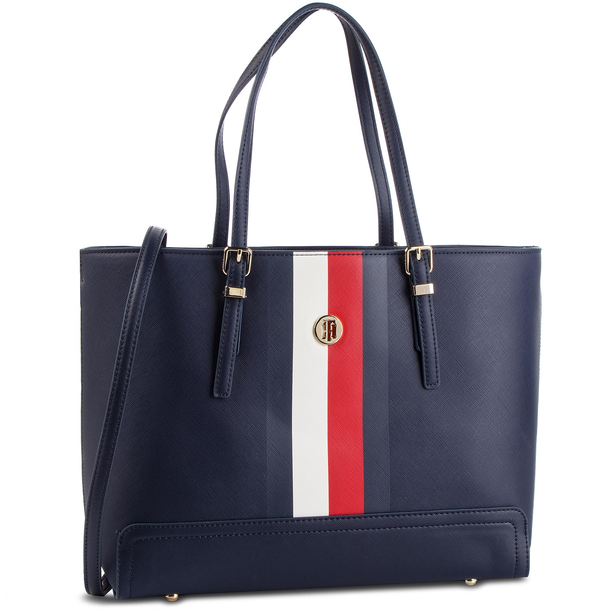ee99e32873 Kabelka TOMMY HILFIGER - Honey Med Tote Corp AW0AW06867 901
