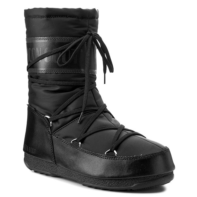 Sněhule MOON BOOT - W.E. Soft Shade Mid 24004600001 Black - Sněhule ... 87d5c8ab15