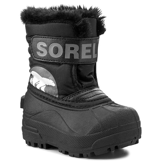 Sněhule SOREL - Toddler Snow Commander NV1877 Black Charcoal 010 ... 53f358d951