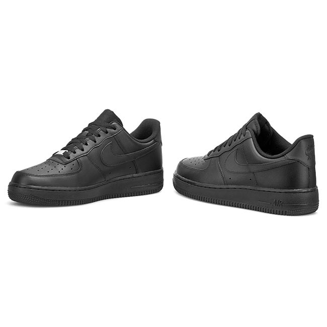 Boty NIKE - Air Force 1  07 315122 001 Black - Sneakersy - Polobotky ... 310e94a51c