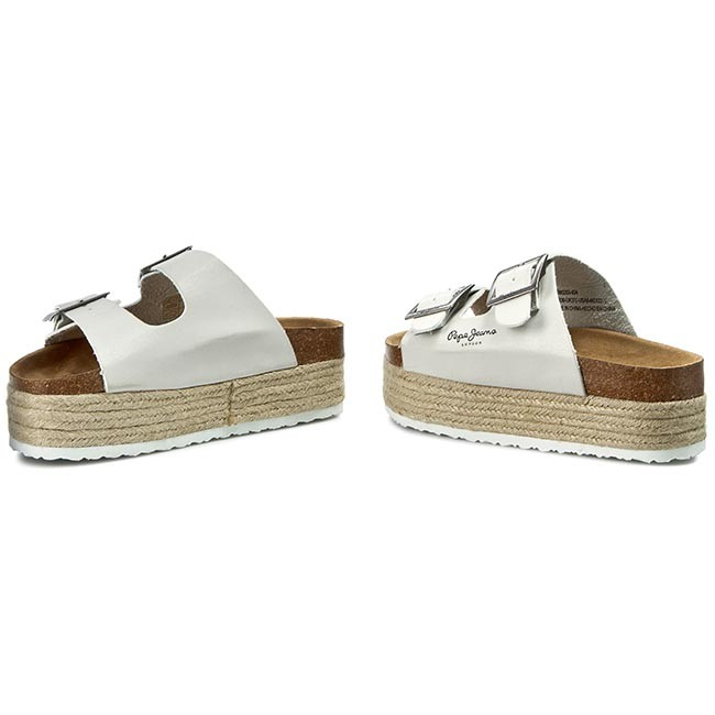 3f0bf483bc2 Espadrilky PEPE JEANS - Simone Basic PLS90203 Silver 934 ...