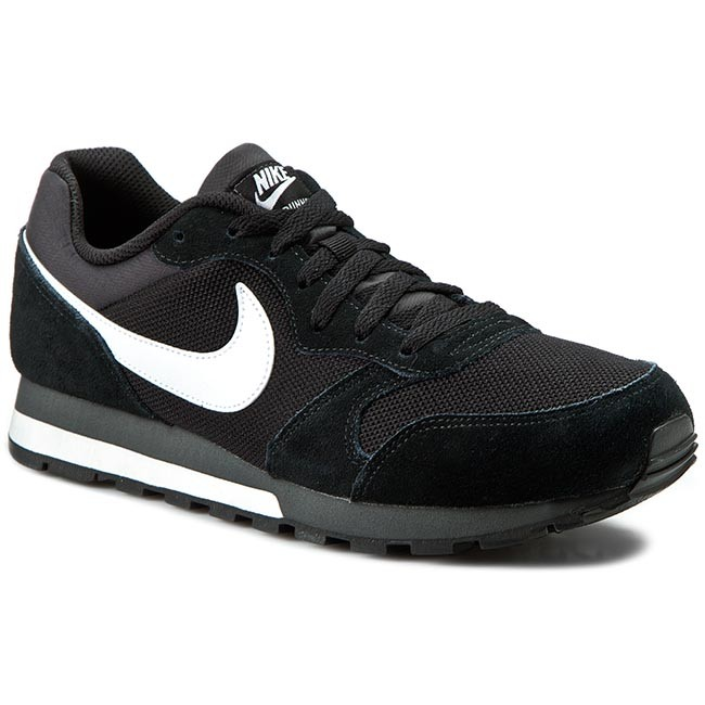 f0a7a2c5bc82 Boty NIKE - Md Runner 2 749794 010 Black White Anthracite ...