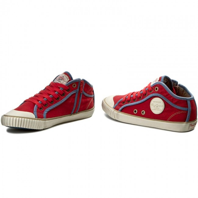 51b2cce2a4c Plátěnky PEPE JEANS - Industry Basic 16 PLS30236 Red Hot 258 ...
