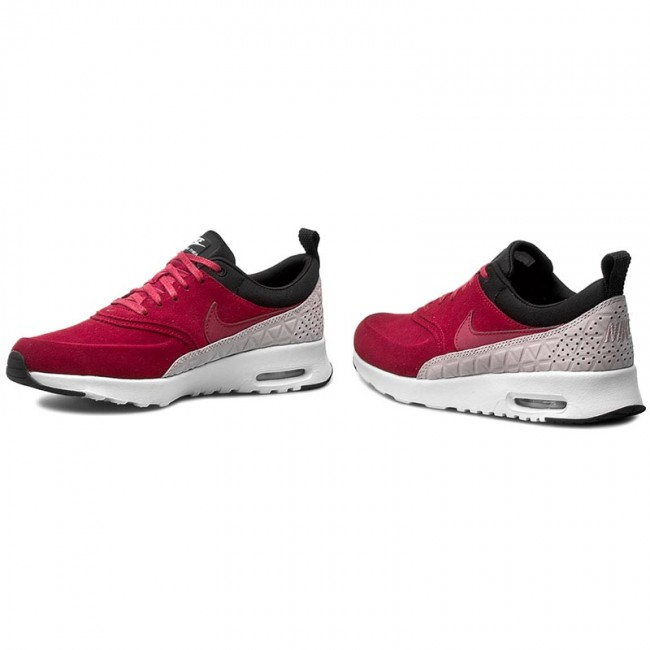 Boty NIKE - W Nike Air Max Thea Prm Lth 845062 600 Noble Red Noble ... 7820352a454