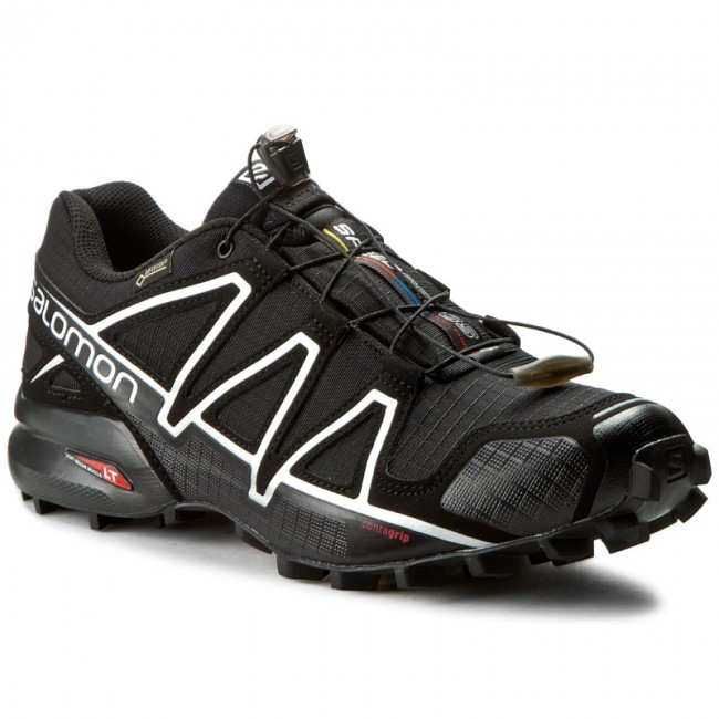 Boty SALOMON - Speedcross 4 Gtx GORE-TEX 383181 26 G0 Black Black ... d3bffb6010