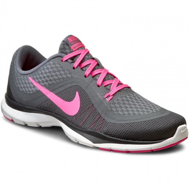 Boty NIKE - Flex Trainer 6 831217 003 Cl Gry Pnk Blst Dry Gry Anthrc ... ccbbc3c329