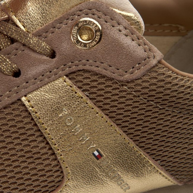 f40169e70804 Sneakersy TOMMY HILFIGER - Angel 1C2 FW0FW00748 Sand 102 - Sneakersy ...