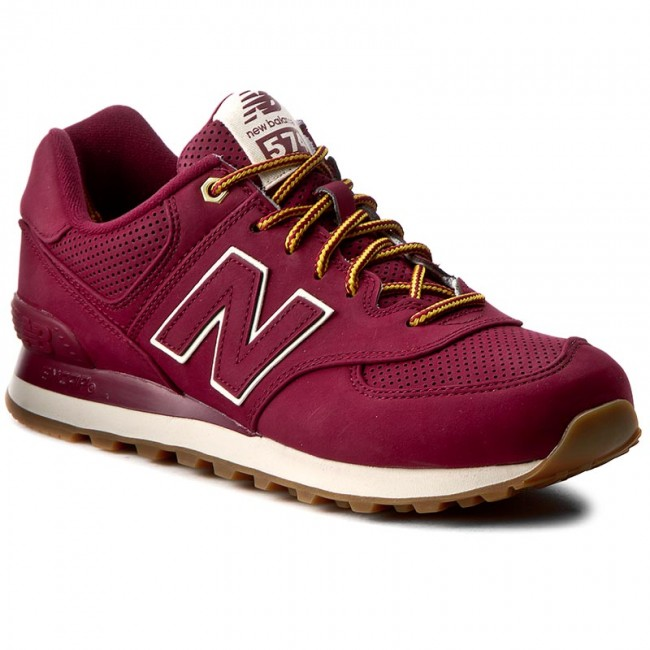 05ac0dda134 Sneakersy NEW BALANCE - ML574HRA Bordó - Sneakersy - Polobotky ...
