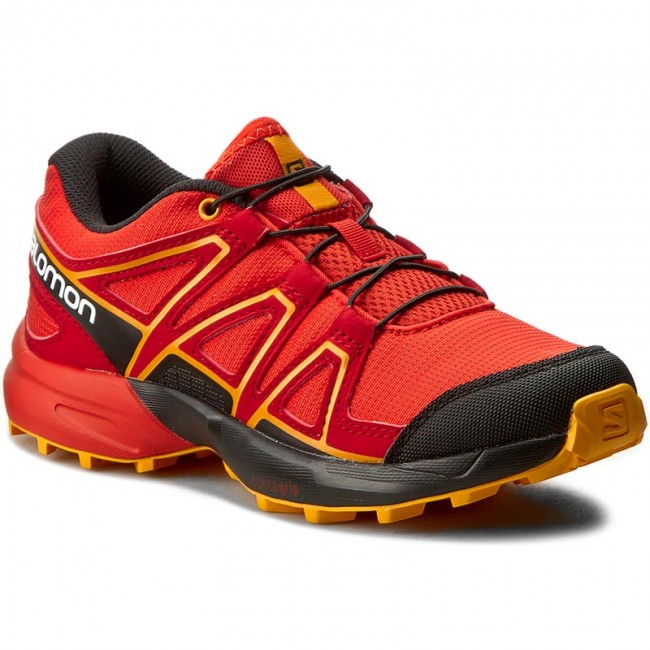 4ee7b6068b8 Trekingová obuv SALOMON - Speedcross J 392383 09 M0 Fiery Red Black Bright  Marigold