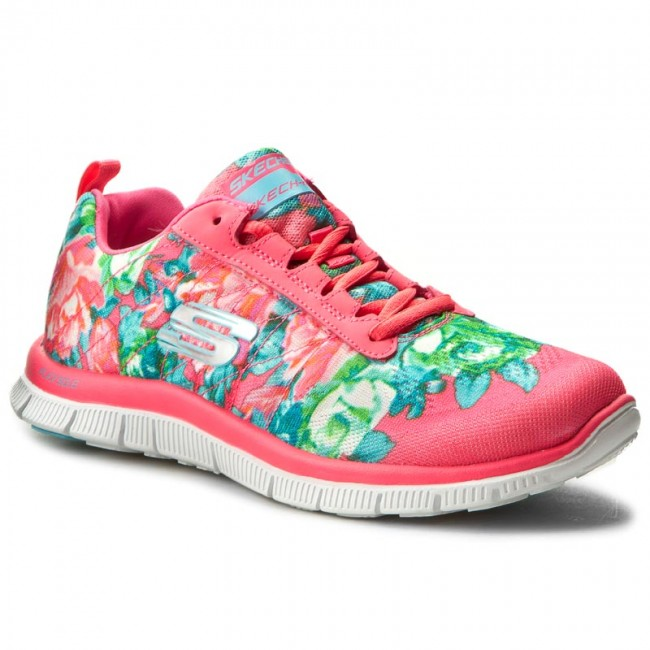 d4e30dc376e Boty SKECHERS - Flex Appeal 12448 HPMT Hot Pink Multi - Fitness ...