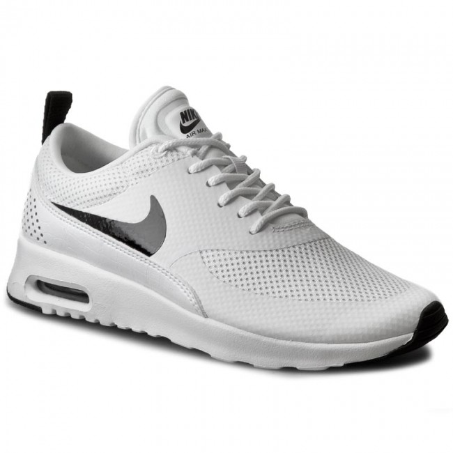 Boty NIKE - Air Max Thea 599409 103 White Black - Sneakersy ... 2ba85a7d182