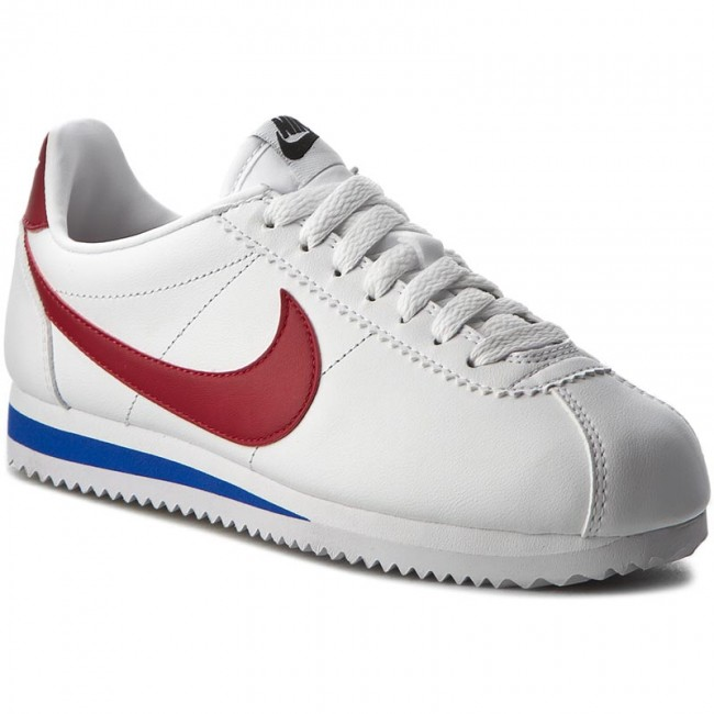 best loved 9723d 2f9fe Boty NIKE - Classic Cortez Leather 807471 103 White Varsity Red