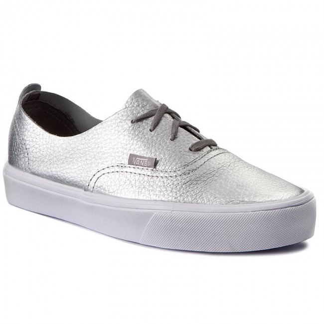 1a21502bc7b Tenisky VANS - Authentic Decon VN0A38ERN5K (Leather) Silver ...