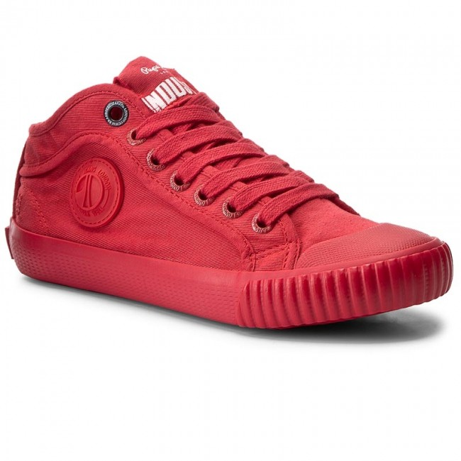 Plátěnky PEPE JEANS - Industry Routes Boy PBS30299 Francois Red 240 ... 4f5294b0414