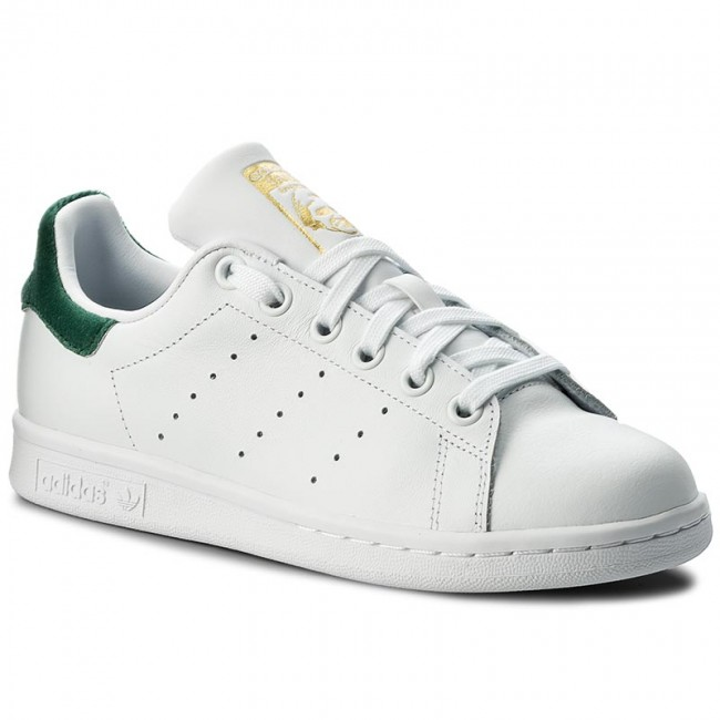 Boty adidas - Stan Smith J BY9984 Ftwwht Ftwwht Cgreen - Sneakersy ... bf92b39e6e