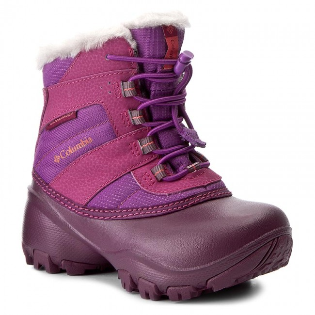 Sněhule COLUMBIA - Childrens Rope Tow II Waterproof BC1323 Northern  Light Melonade 578 042e75eb9f