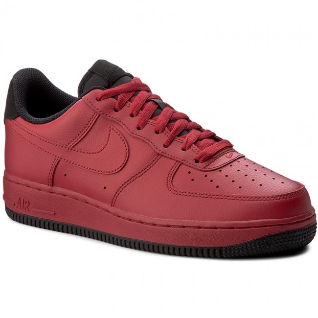 3e6ebe79a5d Boty NIKE - Air Force 1  07 315122 613 Gym Red Black - Sneakersy ...