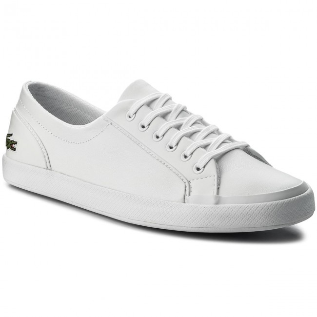Tenisky LACOSTE - Lancelle Bl 1 Spw 7-32SPW0135001 Wht - Plátěnky ... ad2b504aad