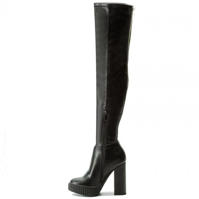 Over Knee Boots GUESS Berrie FLBRR4 ESU11 BLACK