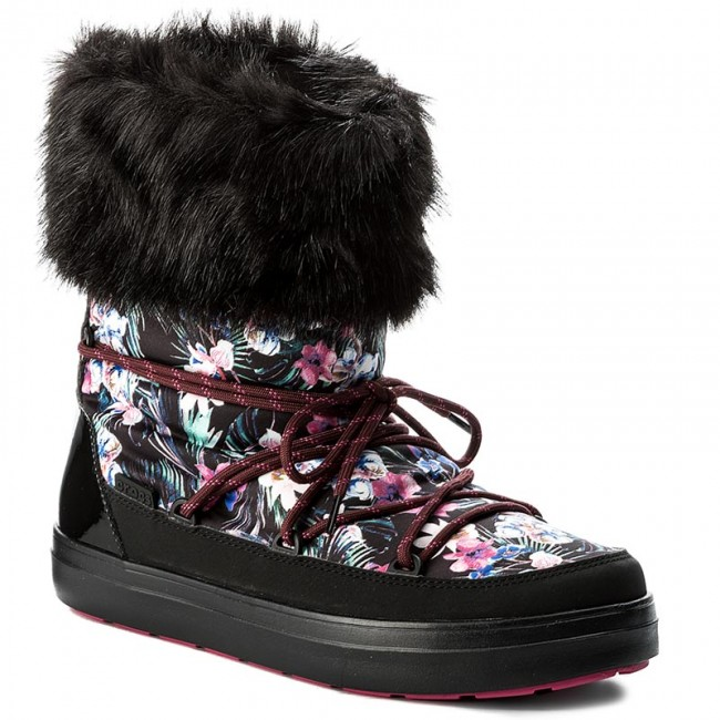 920983fb89f Sněhule CROCS - Lodgepoint Graphic Lace Boot 204791 Tropical Black ...