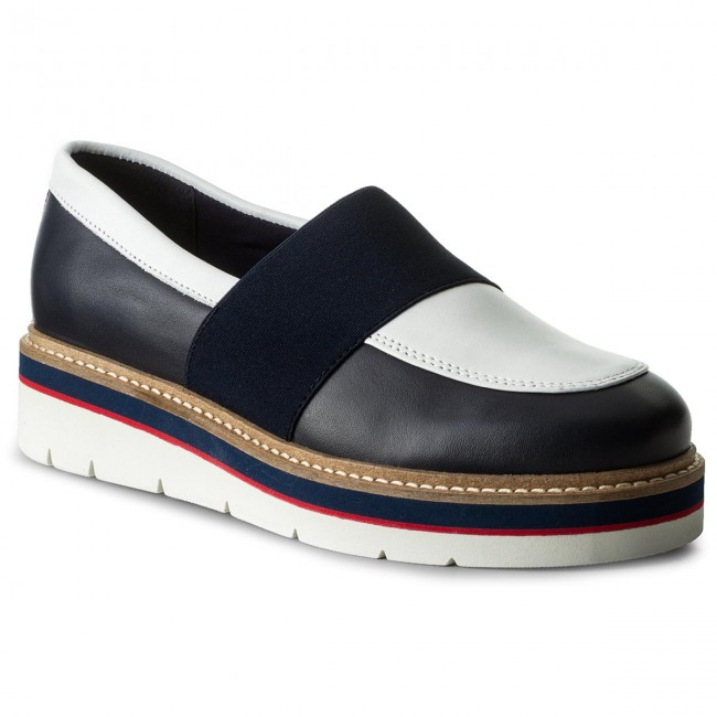 d38feaac78a4f Polobotky TOMMY HILFIGER - Manon 2A FW0FW02102 Tommy Navy 406 - Na ...