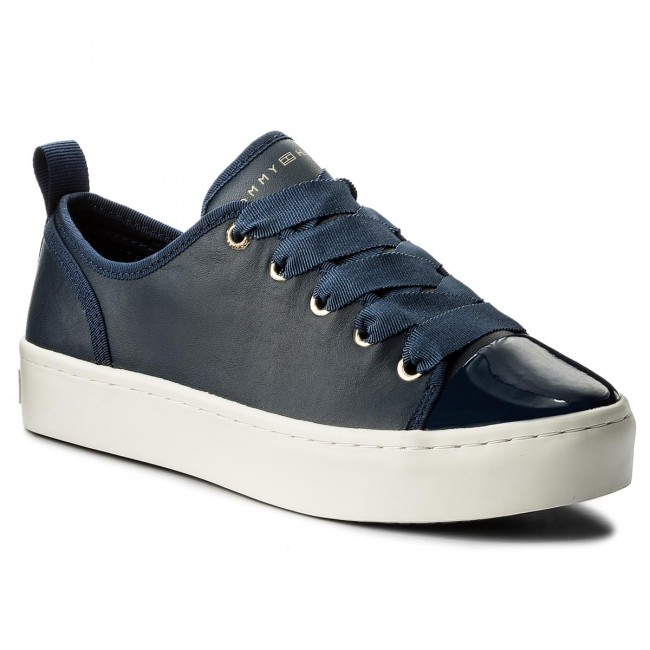 16a80f89d9f9 Sneakersy TOMMY HILFIGER - Jupiter FW0FW02597 Tommy Navy 406 ...