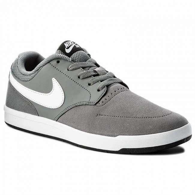 Boty NIKE - Sb Fokus 749477 013 Cool Grey White Black - Sneakersy ... a2e177b06de