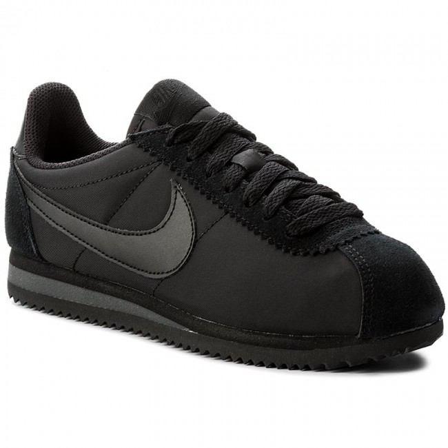 Boty NIKE - Wmns Classic Cortez Nylon 749864 003 Black Black Anthracite 4cfd85f4f25