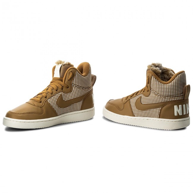dbb6f8ff122 Boty NIKE - Court Borough Mid Se 916793 700 Wheat Wheat Sail ...