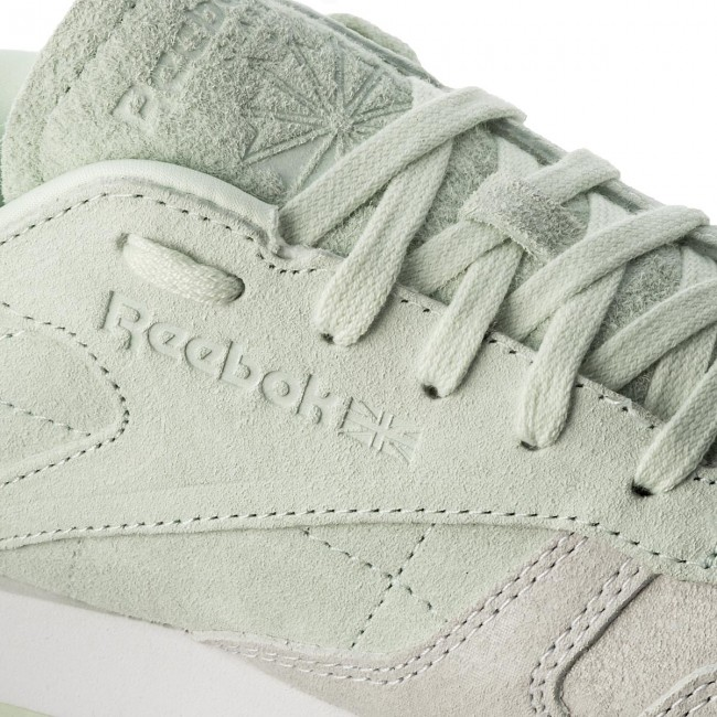 Boty Reebok - CL Lthr Nbk BS9861 White Opal - Sneakersy - Polobotky ... 4f5ad34d6f