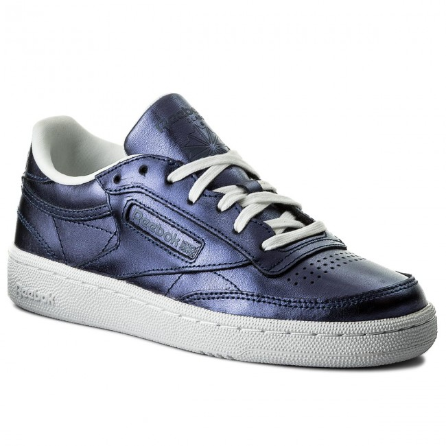 61a1855de29 Boty Reebok - Club C 85 S Shine CM8687 Royal Dark Blue White