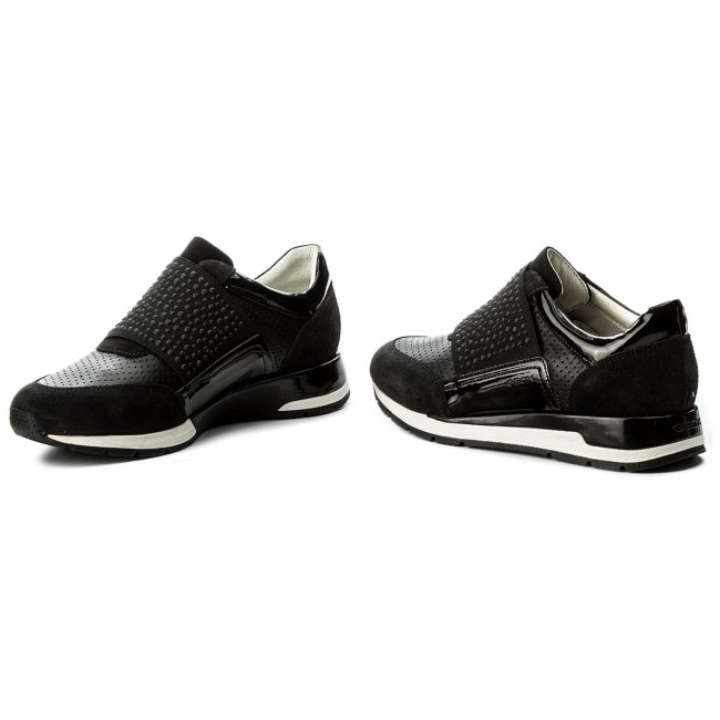 Sneakersy GEOX - D Shahira A D82N1A 02285 C9999 Black - Sneakersy ... 91946a14a7