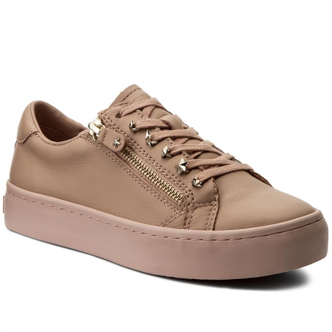 Sneakersy TOMMY HILFIGER - Star Jeweld Leather Sneaker FW0FW02674 Mahogany  Rose 634 5f54172230