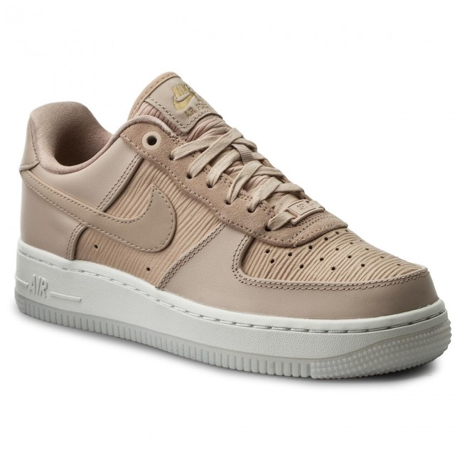 6c554cd6ece Boty NIKE - Wmns Air Force 1  07 Lx 898889 201 Particle Beige Particle