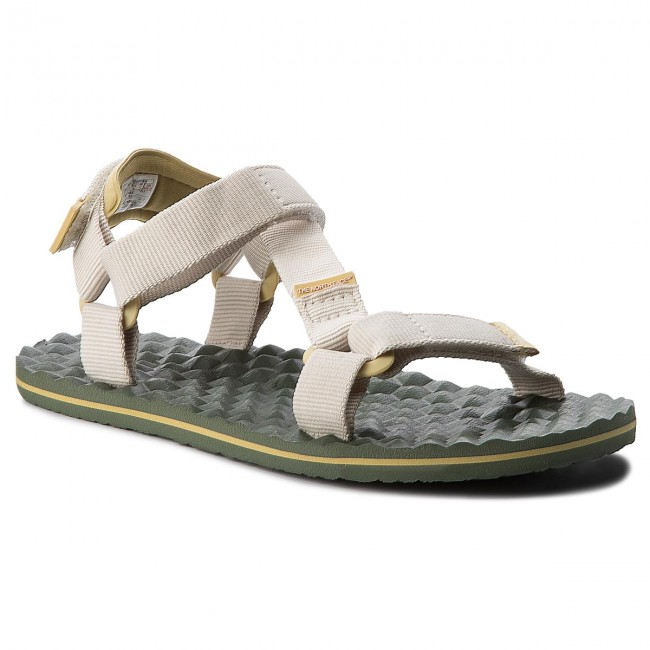 Sandály THE NORTH FACE - Base Sandal Camp Switchback Sandal T92Y984BT  Vintage White Olivenite Yellow f7389a9fb7